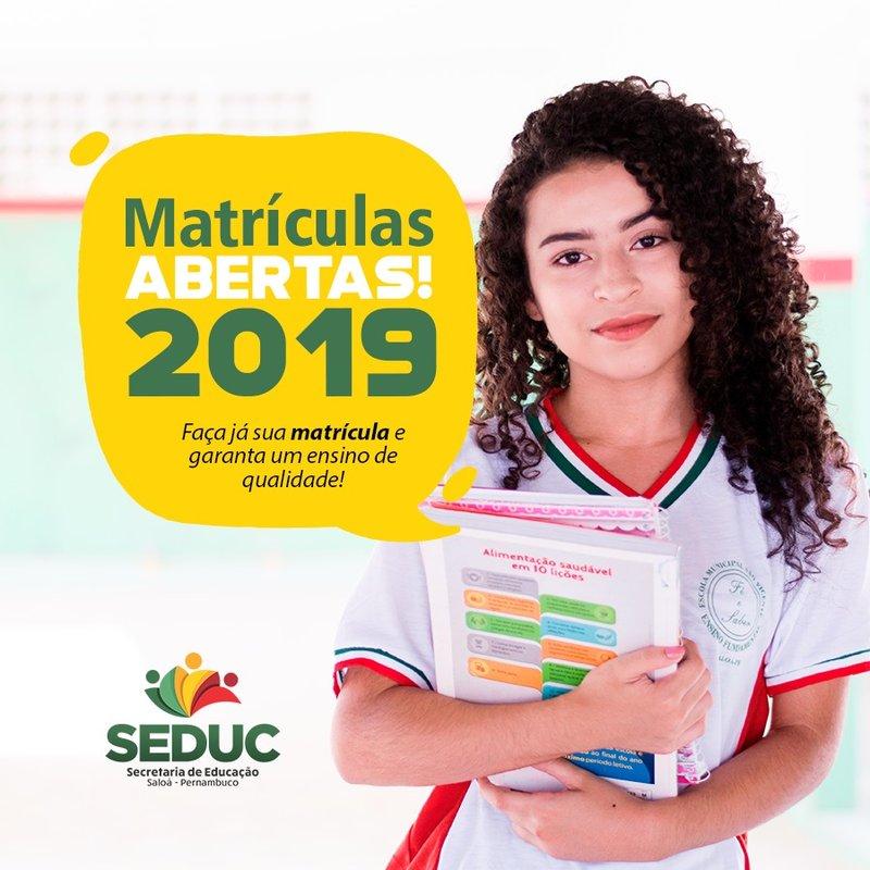 Matriculas 2019