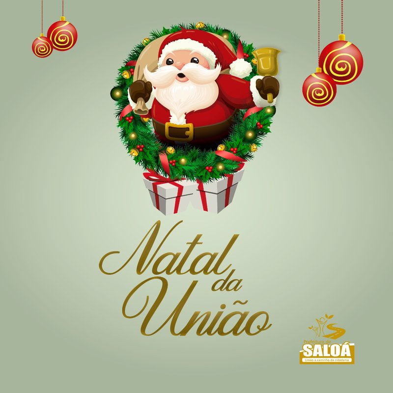 Logo Natal Saloá 2018